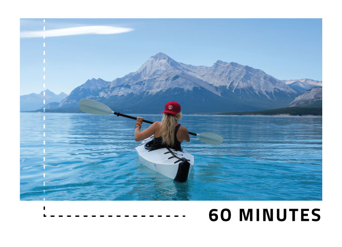 Live 60 Minutes to Banff