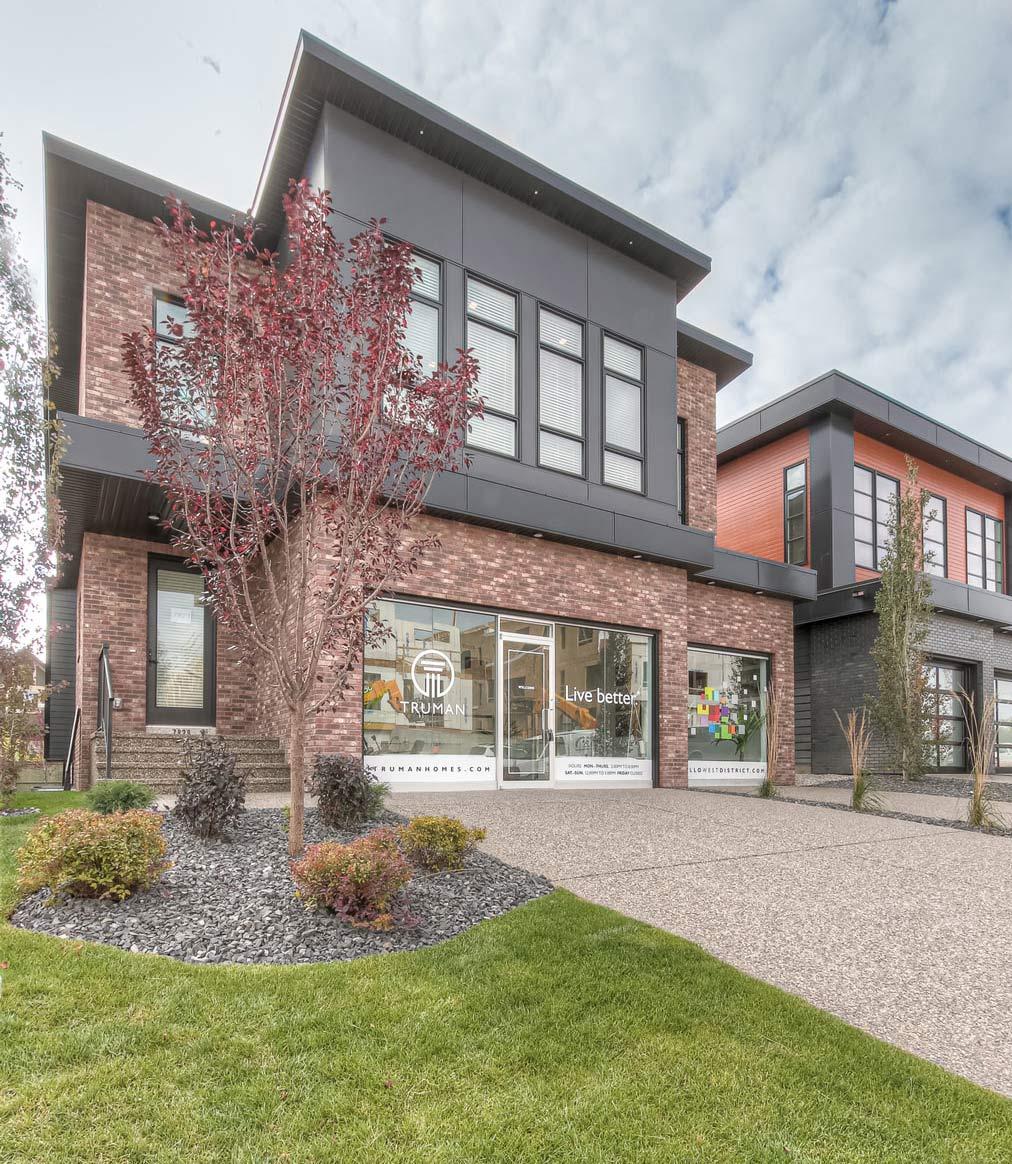 Truman - West District Show Home - Exterior